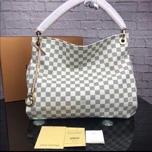 Louis Vuitton artsy azur tote bag